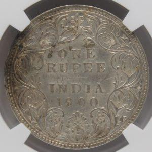インド領 ヴィクトリア銀貨