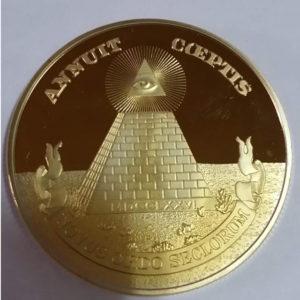 フリーメイソン ゴールドコイン