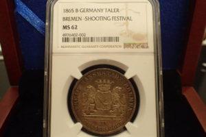 ドイツブレーメン銀貨