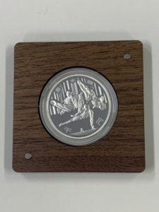 オリンピック銀貨 2020年