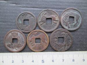珍しい絵銭
