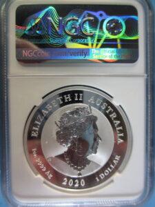 ヒキュウ銀貨 オーストラリア