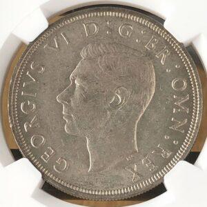 ジョージ6世銀貨 イギリス