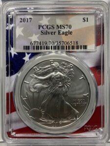 アメリカ1オンス銀貨